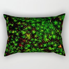 Moss in Moonlight - Shenandoah National Park Rectangular Pillow