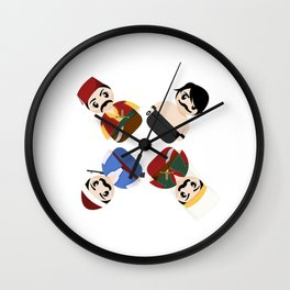 Ottomans Wall Clock
