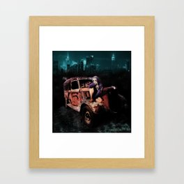 Pilgrimage - A Fairytale of New York Framed Art Print