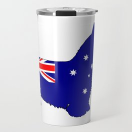 Australian Flag - Scottish Terrier Travel Mug