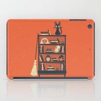 hayao miyazaki iPad Cases featuring Ghibli Shelf // Miyazaki by Daniel Mackey