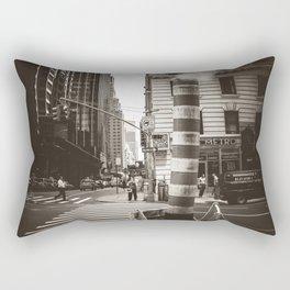 City Steam Rectangular Pillow