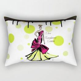 I love Raspberry Lemon Rectangular Pillow