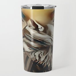 Spirit Of The Wolf Travel Mug