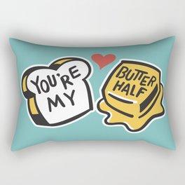 You're My Butter Half Rectangular Pillow