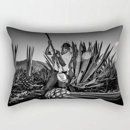 ceremonial dance Rectangular Pillow