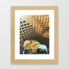 Metropol Parasol, Las Setas Framed Art Print