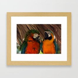 Poof Framed Art Print