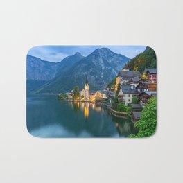 Hallstatt Village, Alps Bath Mat