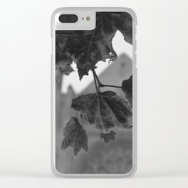 Grace Cathedral Summer Leaves Clear iPhone Case