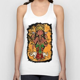 Goddess Lakshmi Unisex Tank Top