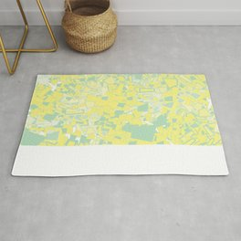 Yellow Green Rug