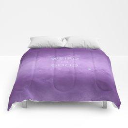 The OA - Weird is Good (T-Shirt) Comforters
