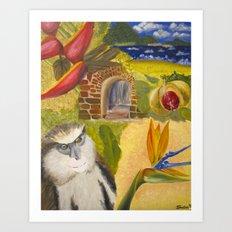 Scenes of Grenada Art Print