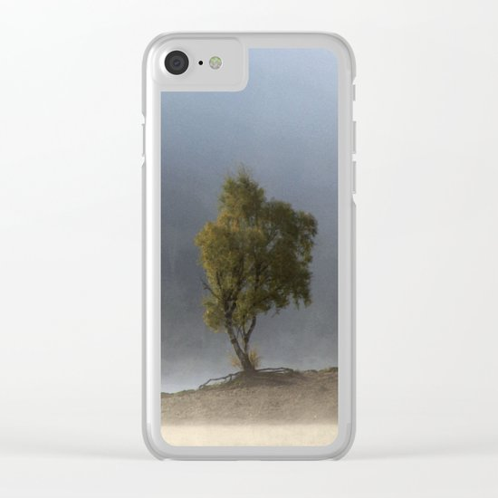 Beautiful dripping fragments Clear iPhone Case
