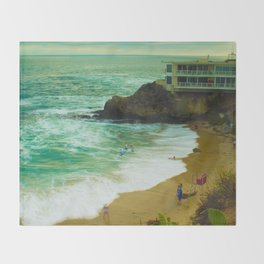 LaGuNa Beach Ca Throw Blanket