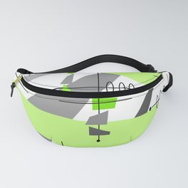 Mid-century Modern Abstract Fanny Pack