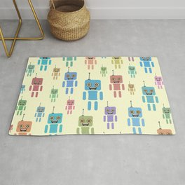 Robotic brothers Rug
