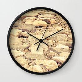 broken road Wall Clock