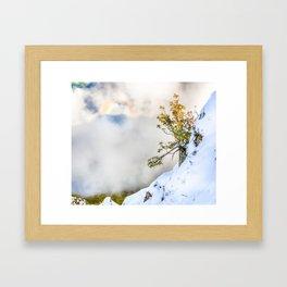 Halo in Caucasian ridge Framed Art Print