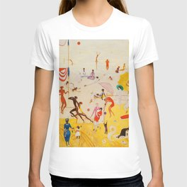 African American Masterpiece 'Summertime, Asbury Park, South' by Florine Stettheimer T-shirt