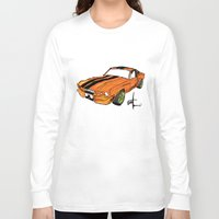 mustang Long Sleeve T-shirts featuring Mustang by Portugal Design Lab