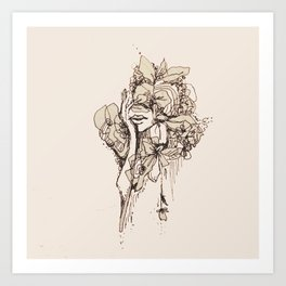 Feelings Art Print