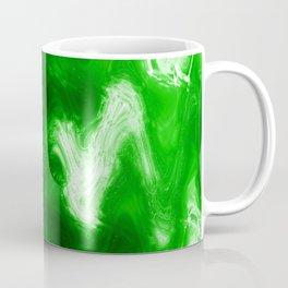 green color abstract Coffee Mug
