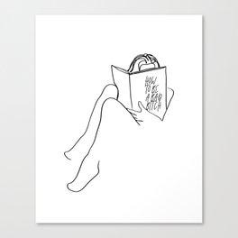 Badass Muse Canvas Print