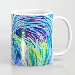 Shih Tzu Intense Colors Coffee Mug