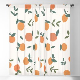 Clementines  Blackout Curtain