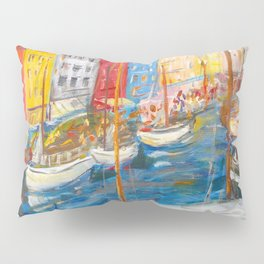 New Harbor, Copenhagen Pillow Sham