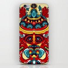 Elephant Flowers iPhone & iPod Skin
