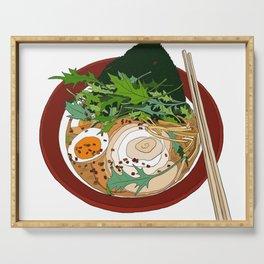 Soy Ramen Noodle Serving Tray