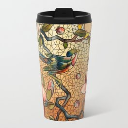 Vintage Stain Glass Travel Mug