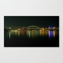 Sydney Opera House & Harbour Bridge Canvas Print