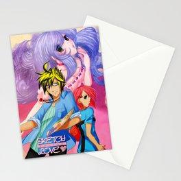 Sketch Love Stationery Cards