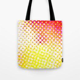 Yellow Pink Pattern Design Tote Bag