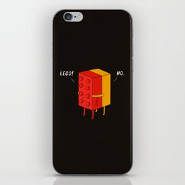 I'll never let go iPhone Skin