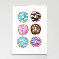 donut Stationery Cards featuring Donut by KseniaKess
