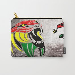 Grunge Reggae Music Colors Lion Carry-All Pouch