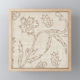 KALAMI LINEN Framed Mini Art Print