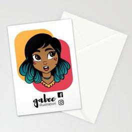 Gabee Illustration Stationery Cards