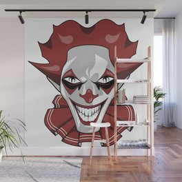Clown Wicked Common Came creepy horror gift Wall Mural