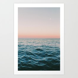 Summer Sunset II Art Print