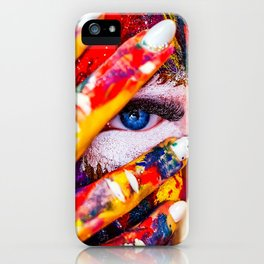 Digital Painting Art | colors | HD Designs iPhone Case