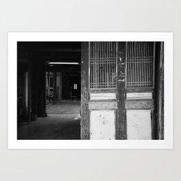 UNHINGED - ADOX Silvermax 100 - 35mm film Art Print