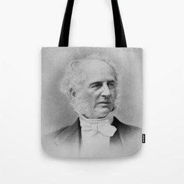 Cornelius Vanderbilt - Railroad and Shipping Magnate Tote Bag