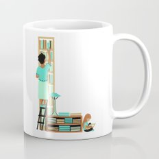 L as Libraire (Bookseller) Coffee Mug