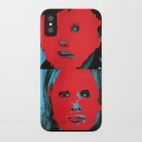 talking heads iPhone & iPod Cases featuring Talking Heads - Remain in Light by NICEALB